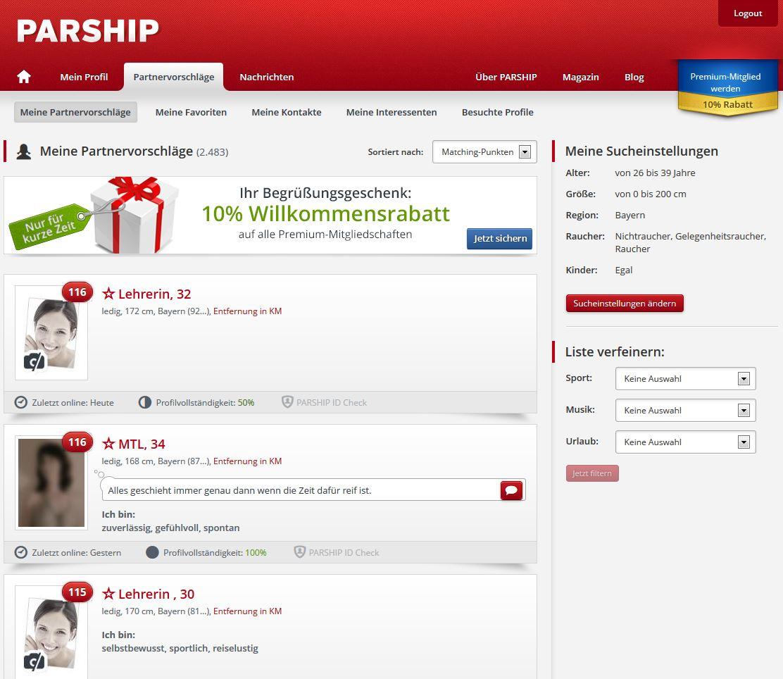 → Partnervermittlung ❤️ Die 10 besten Partnervermittlungen ()