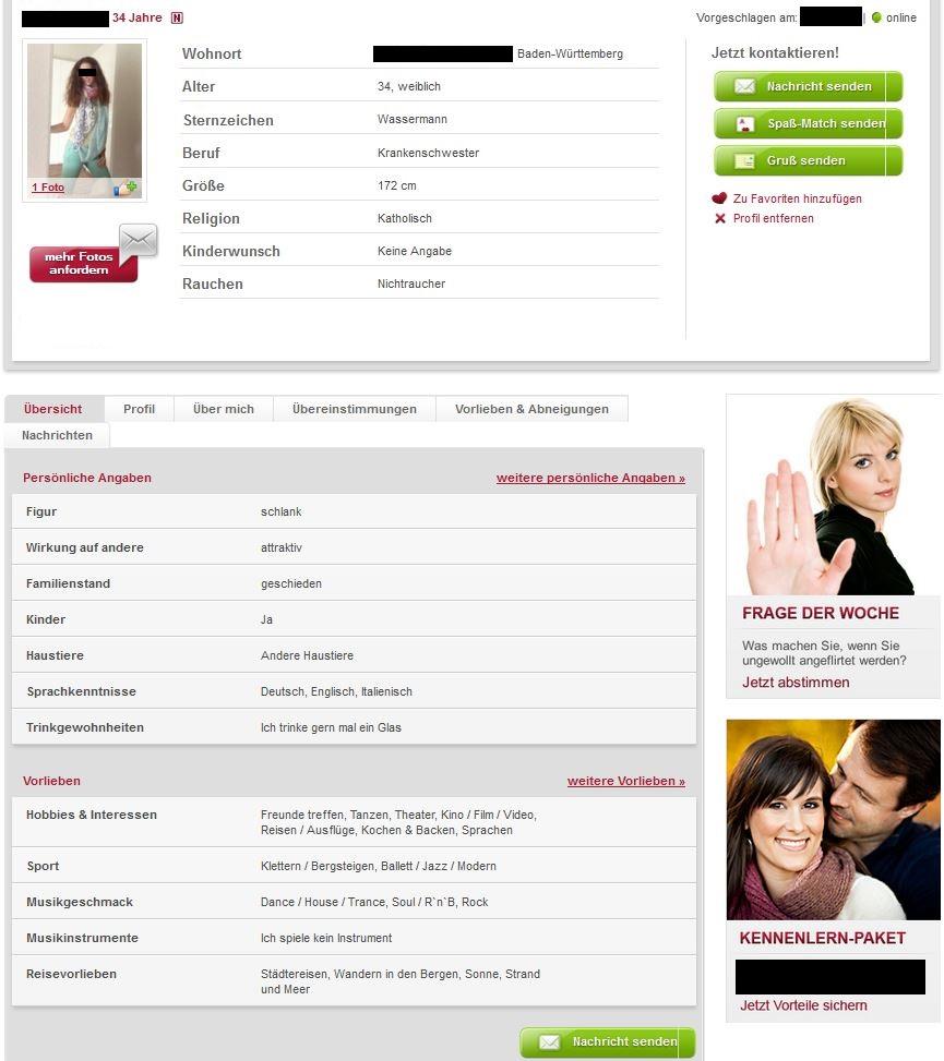 Partnersuche.de Testbericht