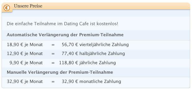 DatingCafe Preise